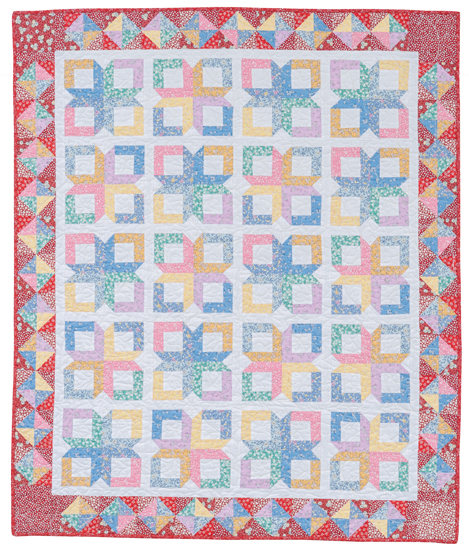Glory Boxes quilt--12 fat quarters
