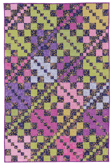 Lost and Found quilt--12 fat quarters