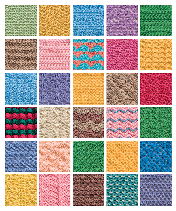 From The Big Book of Crochet Stitches