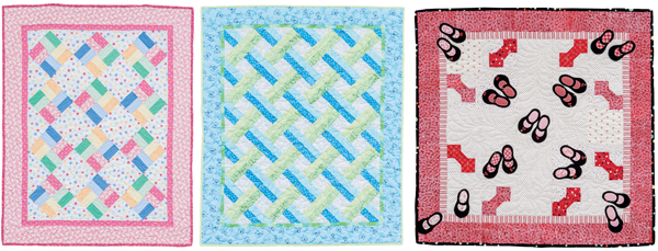 From Fast and Fun Baby Quilts