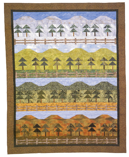 The Seasons quilt
