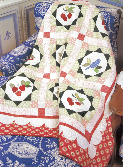 Cherry Orchard Farms quilt
