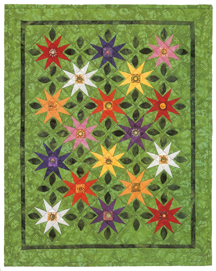 Spring Wildflowers quilt
