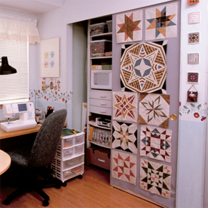 9 quilt design-wall ideas