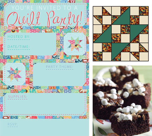 Free quilt party downloads
