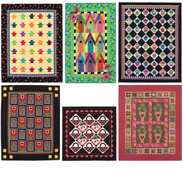 From Colorful Quilts