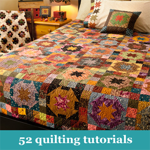 Roundup--52 quilting tutorials