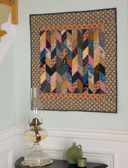 Antique Diamonds quilt