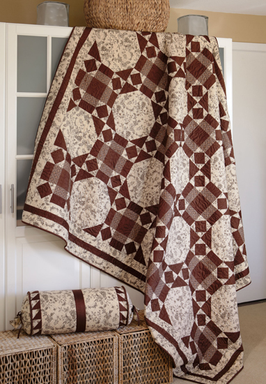 French Silk quilt from Spotlight on Neutrals