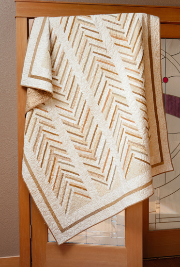 Going My Way quilt from Spotlight on Neutrals