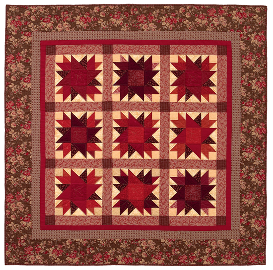 Autumn Splendor wall quilt