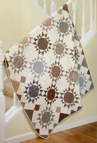 Sunnyside quilt from Spotlight on Neutrals