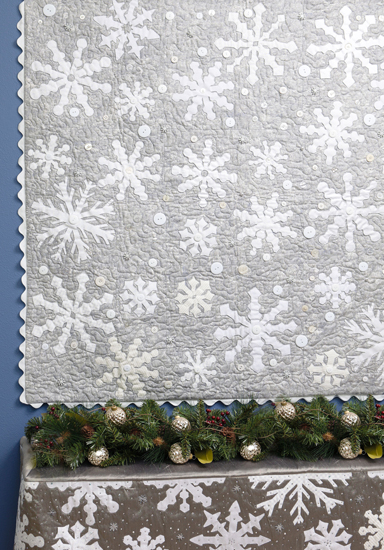 Baby Its Cold Outside quilt from Spotlight on Neutrals