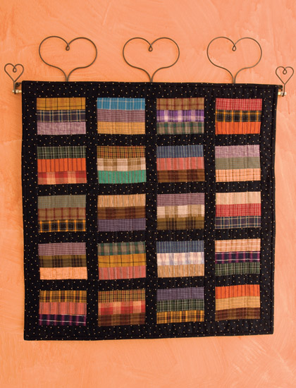 Plaid Coins quilt