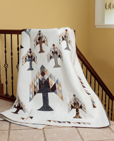 Arboretum quilt from Knockout Neutrals