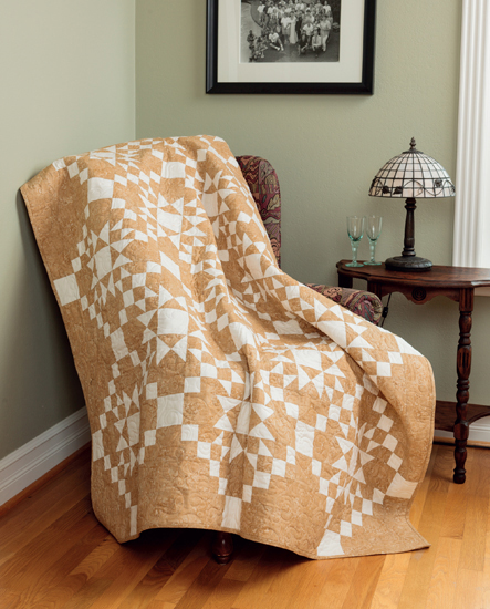 Caramel Latte quilt from Knockout Neutrals