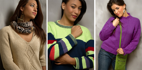 Projects from Seamless (or Nearly Seamless) Knits