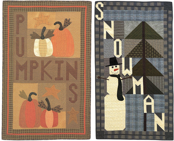 Quilts from Alphabet Soup