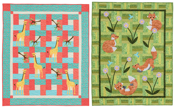 Quilts from Animal Parade