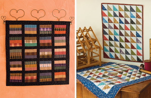 Quilts from Bits and Pieces