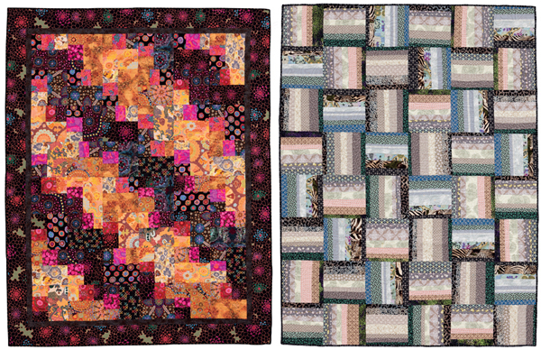 Quilts from Stack Shuffle and Slide