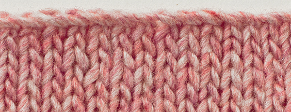 Stem-Stitch Bind Off