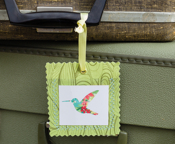 Luggage Tag by Carrie Jung
