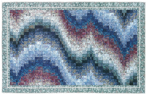 Monet's Garden from Colorwash Bargello Quilts