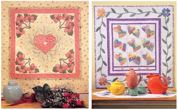 Quilts from Garden Party - Applique Quilts That Bloom