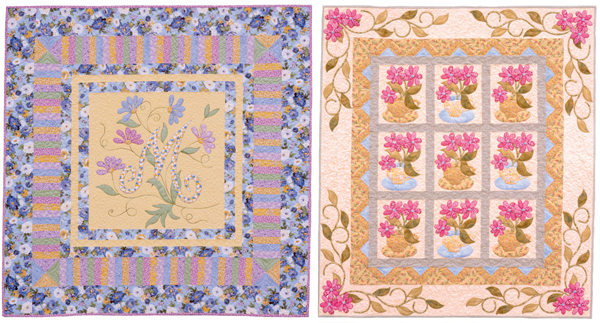 Quilts from Tea in the Garden