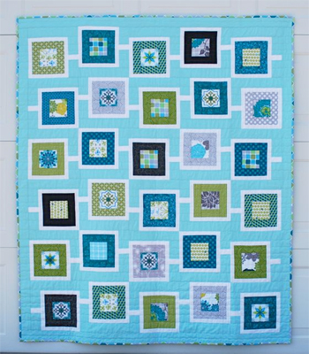 Sanctuary Squares quilt by Cindy Lammon
