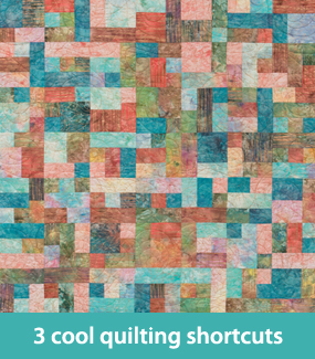 3 cool quilting shortcuts