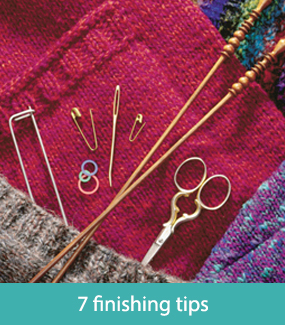 7 finishing tips for knitters