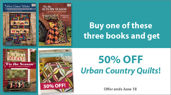 Save 50% on Urban Country Quilts