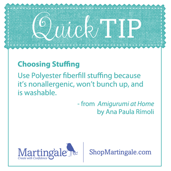 Quick Tip--choosing stuffing for amigurumi