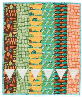 A Banner Day quilt