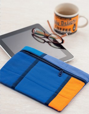 Color-Block iPad Cover