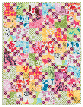 Four Patch Shift quilt