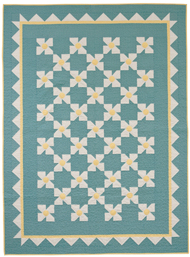 Matilija Poppies quilt