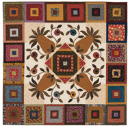Old-Fashioned Hospitality quilt