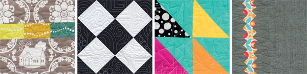 Quilt-block details from Imagine Quilts