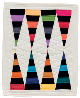 Stalagstripes quilt
