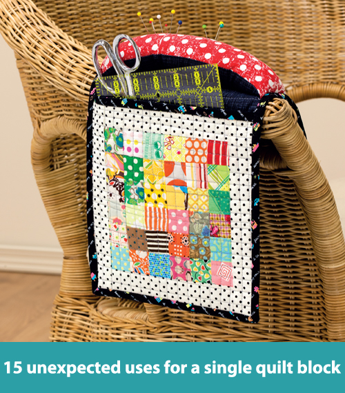 15 unexpected uses for a single quilt block