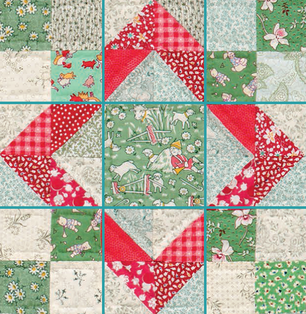 Baby Sukey quilt pattern
