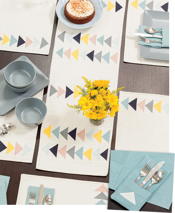 Dining-room projects from Sew a Modern Home