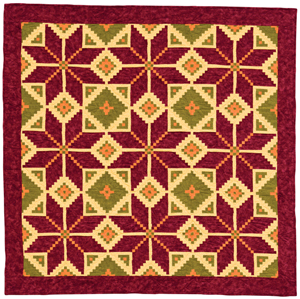 Kathy's Star quilt
