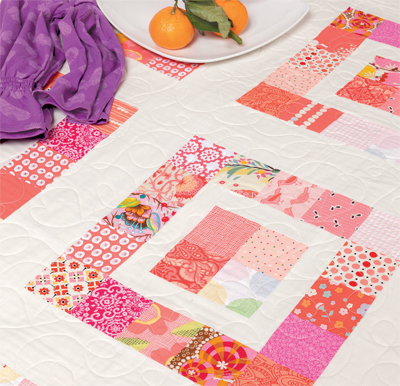 Pinky Patch quilt