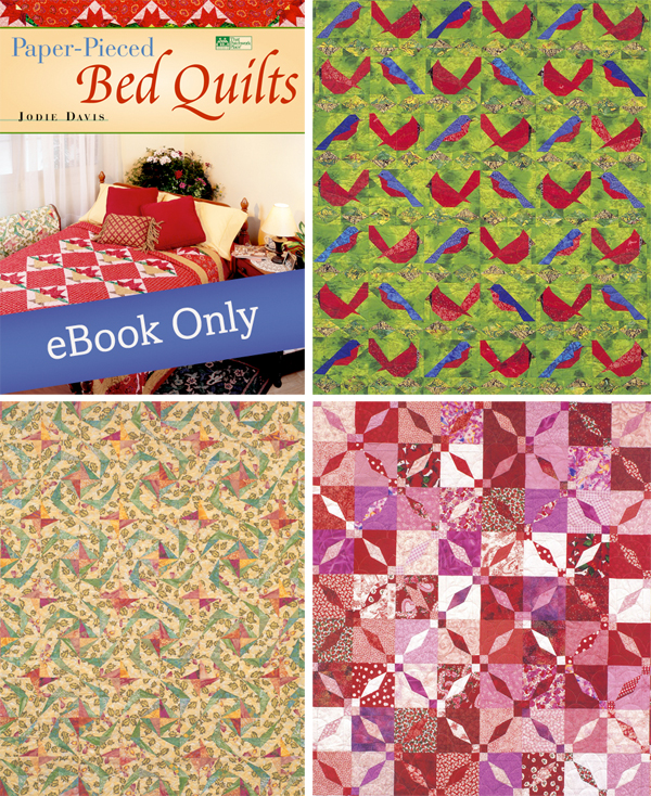 Quilts from Paper-Pieced Bed Quilts