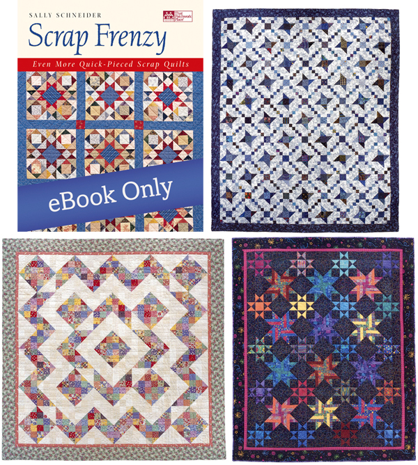 Quilts from Scrap Frenzy