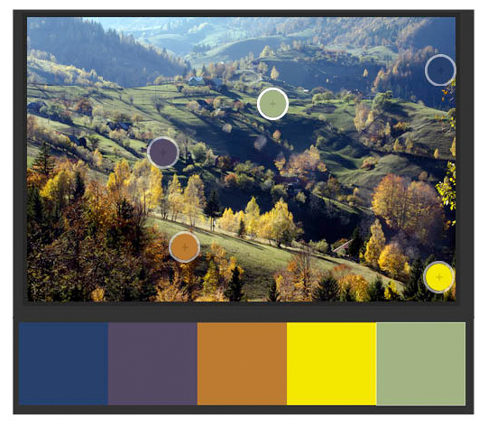 Sarah's nature color palette